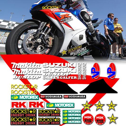 Custom Racestreet Graphics Decals Stickers X Forums - Custom motorcycle stickers racing