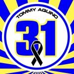 Tommy Aquino Memorial Sticker